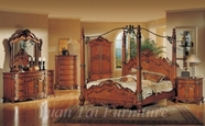 Yuan Tai CR7401K(TV)-SET SET - Crawford King w/TV Armoire