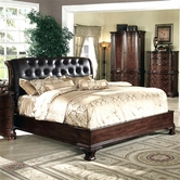 Yuan Tai DA5900Q Dasan Queen Bed w/ Leather