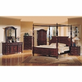 Yuan Tai ED6650Q Edinburgh Poster Queen Bedroom set