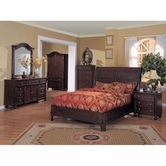 Yuan Tai ED6660Q Edinburgh Queen Bedroom set