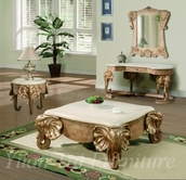 Yuan Tai EL4327CT-4328C-4329E Elephant Console-Cicktail-End Table Set