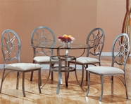 Yuan Tai EL6388T(6388)-4 SET - Elaine Table 5 Pcs Set