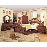 Yuan Tai FR5800Q Frontega Queen Bedroom set