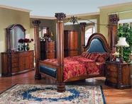 Yuan Tai GA5600Q(TV)-SET SET - Gaston Queen w/TV Armoire 5Pc