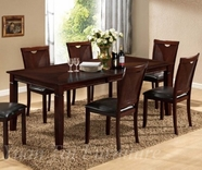 Yuan Tai GR125T(S)-4 Grenada Table and 4 Chairs