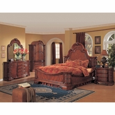 Yuan Tai HA6100Q Hannah Queen Bedroom set