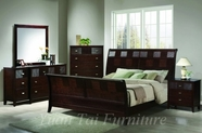Yuan Tai HD1160Q-4PC SET - Hidalgo Queen Bed+NS+M+DR