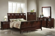 Yuan Tai HD1160Q Hidalgo Queen Sleigh Bedroom set