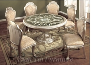 Yuan Tai JE2750T-S-6 SET - Jefferson Table 7 Pcs Set