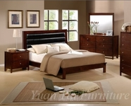 Yuan Tai JS2508Q/NS/M/DR SET - Josco Queen Bed+NS+M+DR