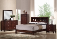 Yuan Tai JS2510Q/NS/M/DR SET - Josco Queen Bed w/N/M/DR 4 Pc