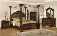 Yuan Tai JU2660Q Juliet Queen Poster Bedroom set