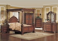 Yuan Tai KA7600Q Kamella Queen Canopy Bedroom set