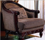 Yuan Tai LR2025A Loretta Arm Chair
