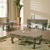 Yuan Tai MA4330CT-4331C-4332E Margaux Console-Cocktail-End-Table Set