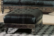 Yuan Tai MA8000T Manhattan Leather Ottoman