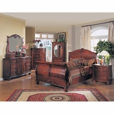 Yuan Tai MD2000Q Madina Queen Sleigh Bedroom set