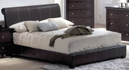 Yuan Tai MN4010Q Montgomery Padded Queen Bed