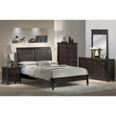 Yuan Tai MN4010Q Montgomery Padded Queen Bedroom set