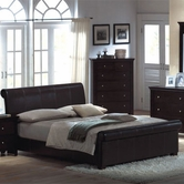 Yuan Tai MN4021K Montgomery Padded King Bed