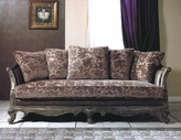 Yuan Tai NC1035S Nicola Fabric/Leather Sofa