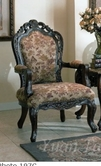 Yuan Tai NE3000A Newport Fabric Arm Chair