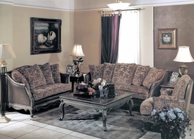 Yuan Tai - Nicola NC1035S-NC1035 2 Piece Living Room Set