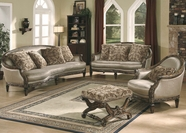 Yuan Tai - Nottingham JNT7750S-NT7750L 2 Piece Fabric Living Room Set