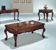 Yuan Tai OL7011C-E Olivia Cocktail-End-Table Set