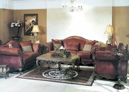 Yuan Tai - Phyllis PH1091S-PH1091L Leather Living Room Set