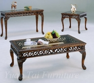 Yuan Tai PR800C-E Prescott Cocktail-End-Table Set