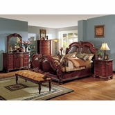 Yuan Tai PT9750Q Porter Cherry Queen Bedroom set