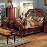 Yuan Tai PT9751K Porter Cherry King Bed