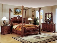 Yuan Tai RM3000Q Romeo Cherry Queen Bedroom set
