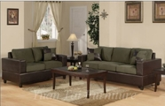 Yuan Tai - Sage 4674S-GR-4675L-GR 2 Piece Living Room Set