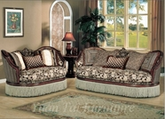 Yuan Tai - Santiago SA9000S-SA9000L Fabric Living Room Set