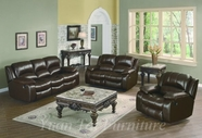 Yuan Tai SE8251SLC-SET(3 SET - Sebastian Brown Sofa 3 Pcs