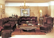 Yuan Tai - Solomon SL1092S-SL1092L  Leather Living Room Set