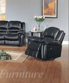 Yuan Tai Su2990C-Bk Sutton Black Recliner Chair