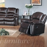 Yuan Tai SU2990C-BR Sutton Brown Recliner Chair