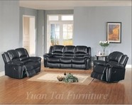 Yuan Tai - Sutton SU2990S-BK-SU2990L-BK Living Room Set