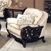 Yuan Tai TN3500C Tanner Fabric/Wood trim Chair