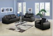 Yuan Tai TR2460BK-SET Tripoli Black 3 Pcs Set
