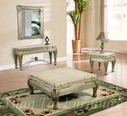 Yuan Tai VE4321CT-4322C-4323E Vedette Console-Cocktail-End-Table Set