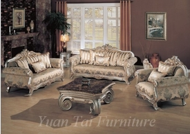 Yuan Tai Victory VY2200 Fabric Sofa Set