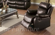 Yuan Tai WE9918C-BR Weston Brown Recliner Chair