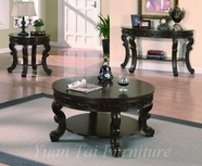 Yuan Tai WL4100-COFFEE-END-SOFATABL Wilson-Cocktail-End-Sofa Table Set