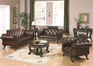 Yuan Tai WL4100-SET Wilson Leather Sofa Set