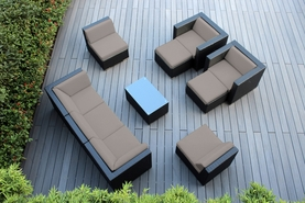 Ohana Outdoor Patio Wicker Furniture 10 pc couch set.  Additional $300 off. Now at $1699.00. (Coupon: M300)