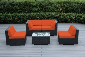 Ohana  Outdoor Patio Wicker Furniture  5 pc sectional couch set. Additional $100 off.  Now at $999 ( Coupon Code: M100)